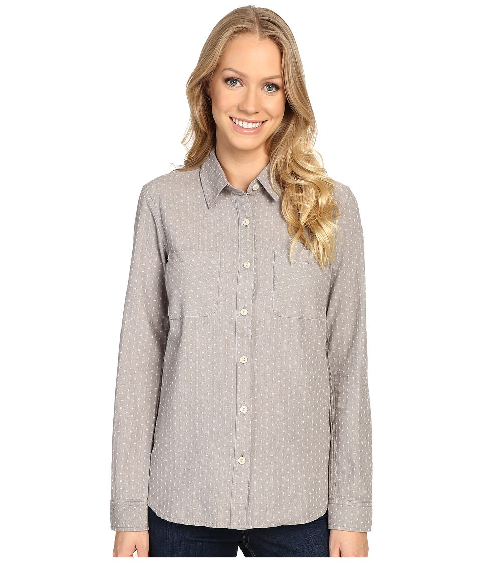 United By Blue - Galway Dot Button Down (Grey) Women's Clothing