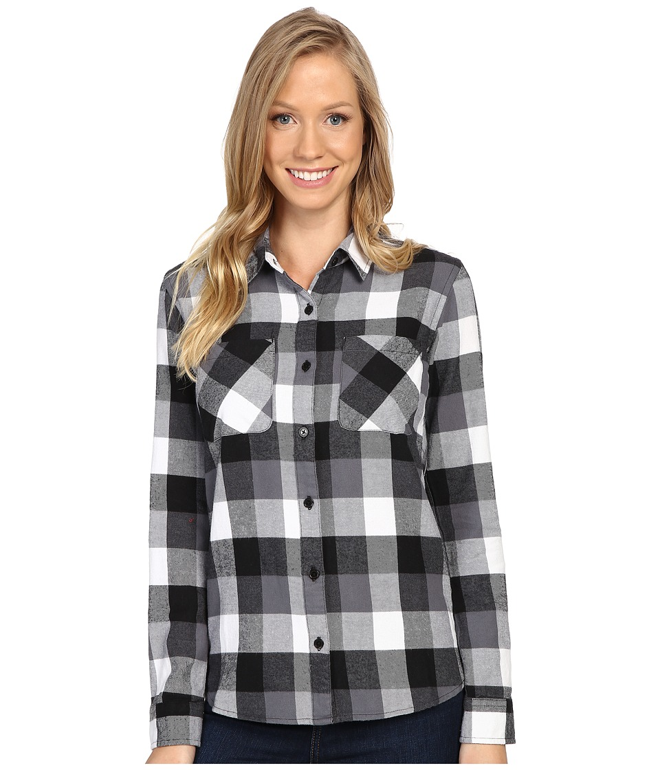 United By Blue - Beech Plaid (Black) Women's Clothing