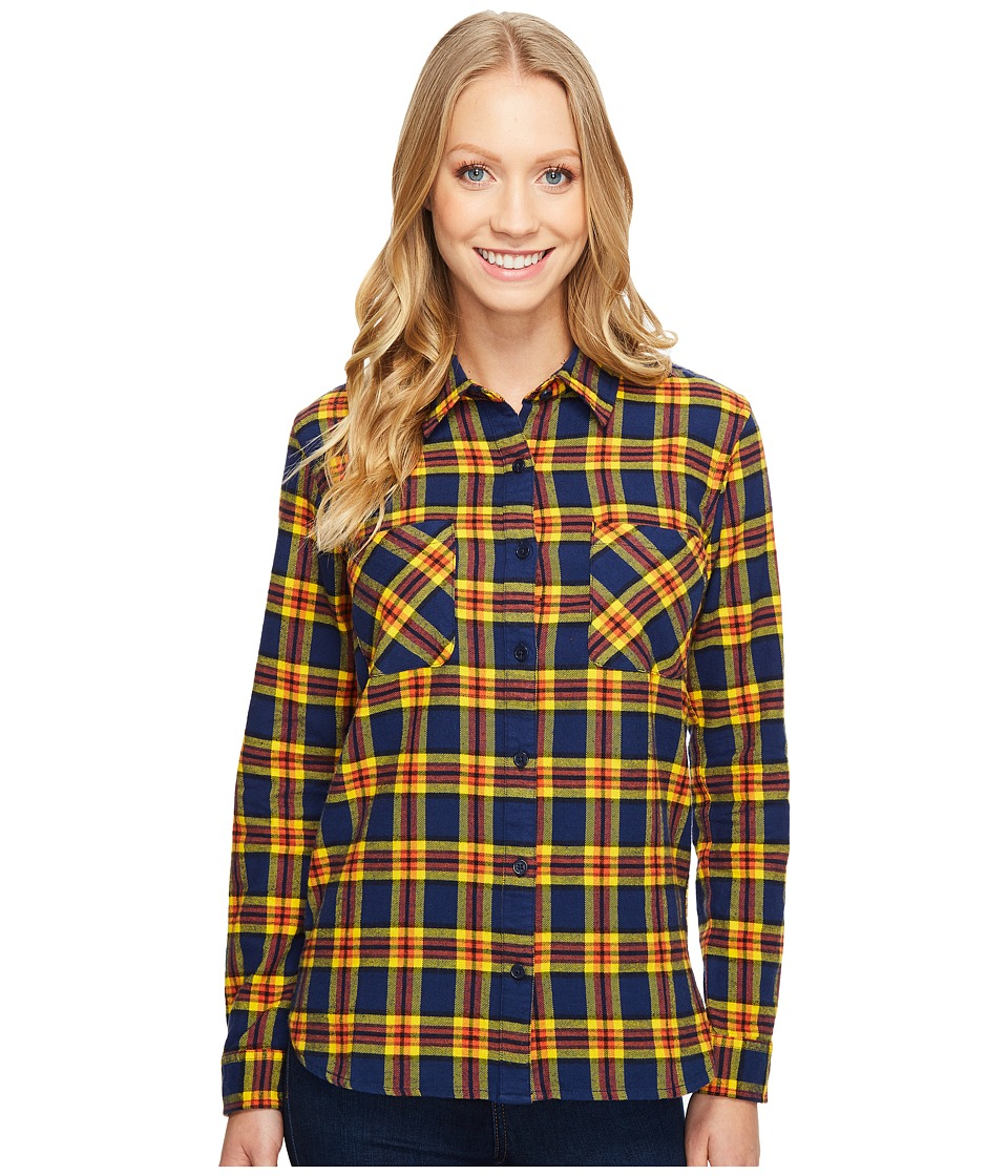 United By Blue - Eldora Plaid (Yellow/Navy) Women's Clothing