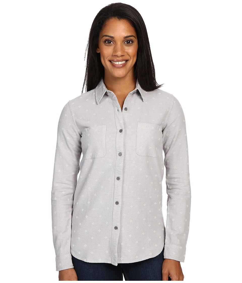 United By Blue - Rae Geo Button Down (Grey) Women's Clothing