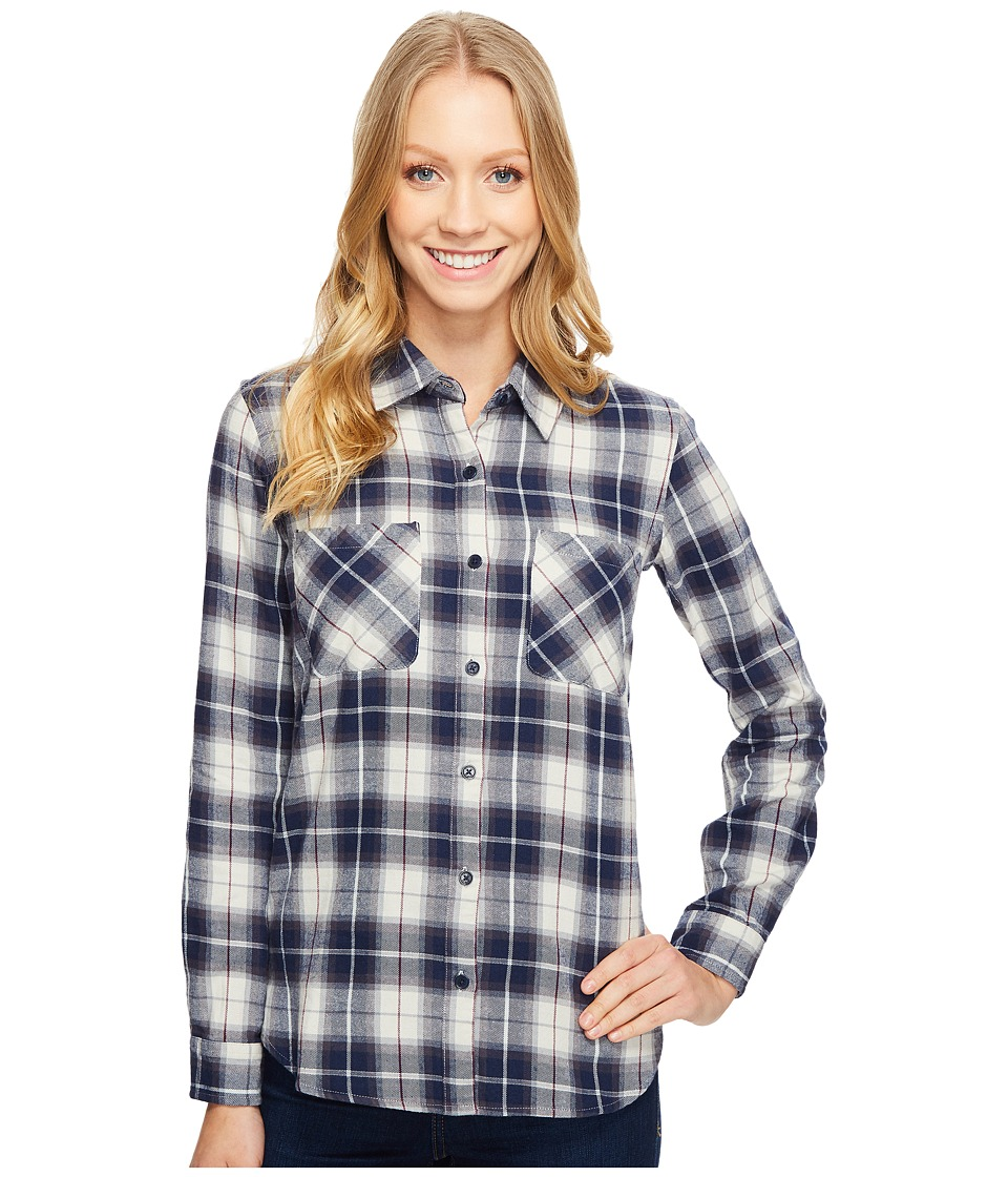 United By Blue - Knowle Plaid (Navy/Grey) Women's Clothing