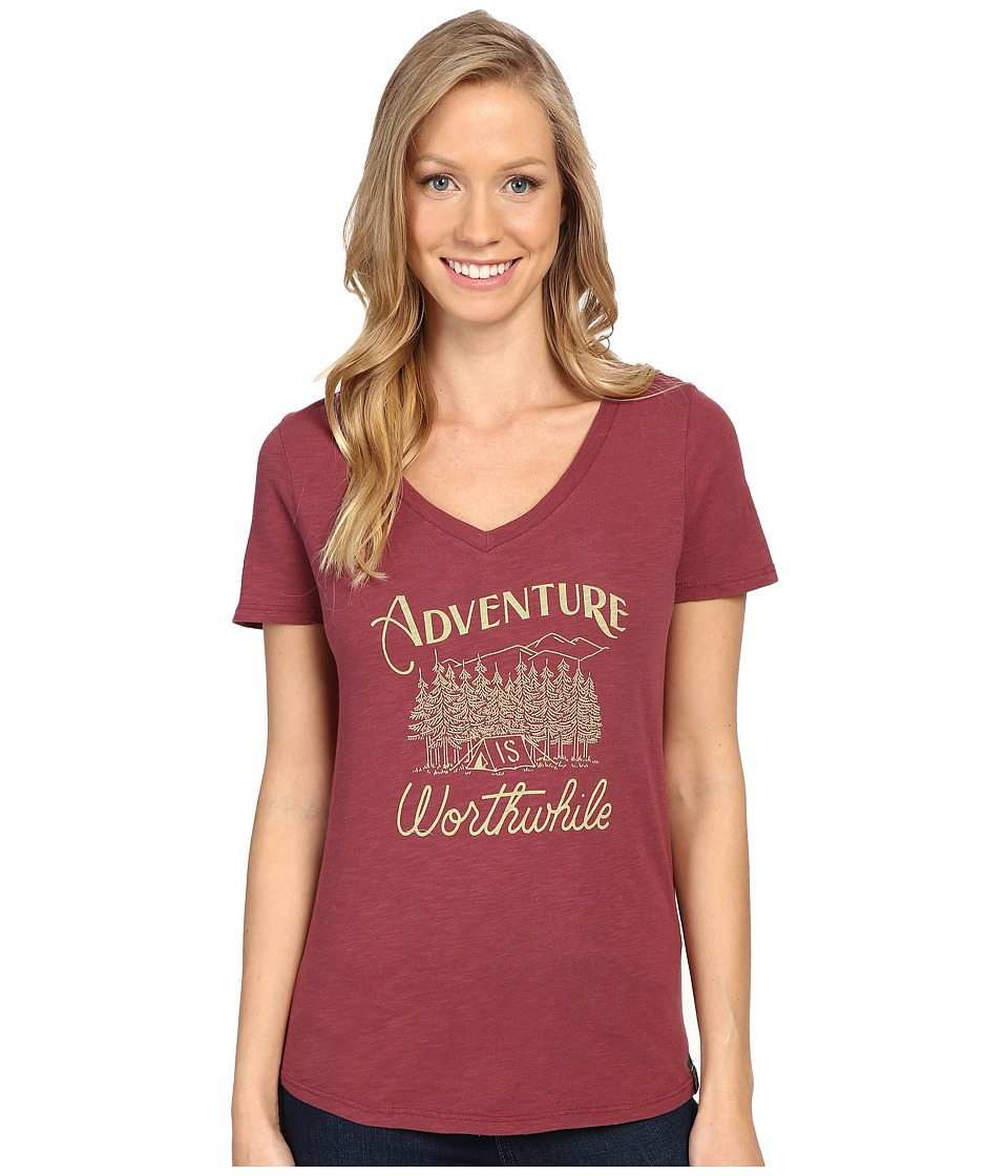 United By Blue - Adventure (Oxblood) Women's Clothing