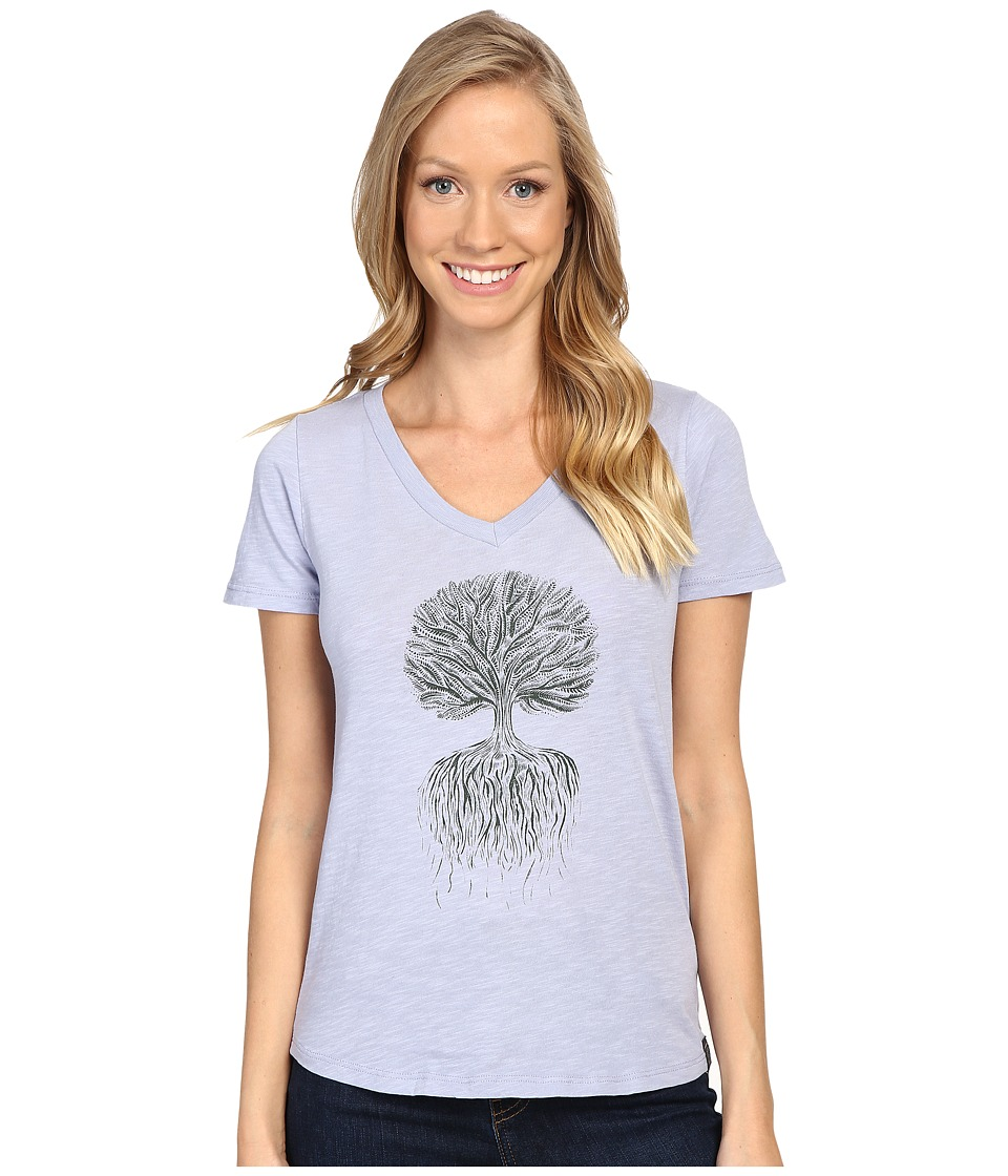 United By Blue - Tree Roots (Lake Blue) Women's Clothing