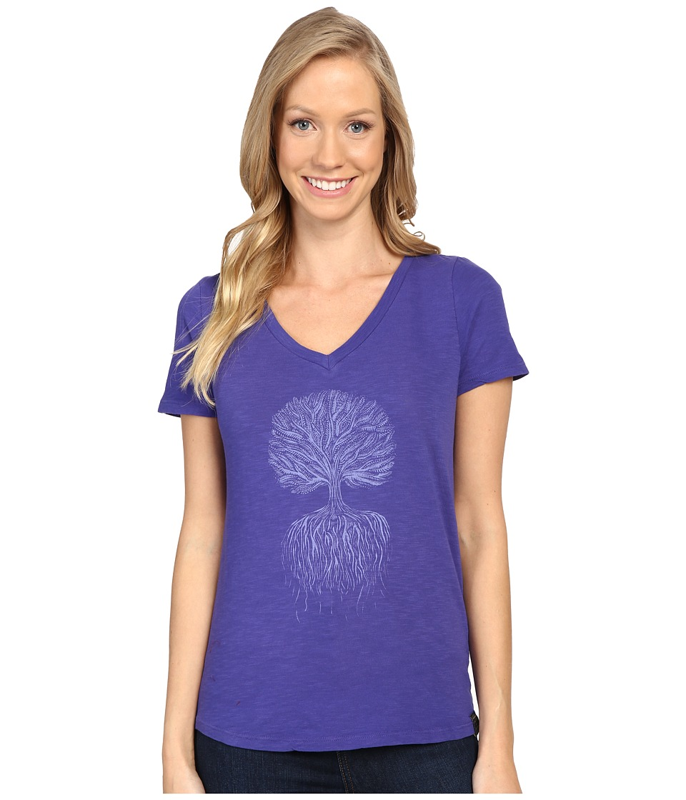 United By Blue - Tree Roots (Cobalt) Women's Clothing
