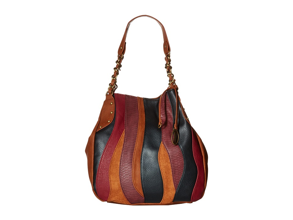 CARLOS by Carlos Santana - Melodia Chain Shopper (Cognac Multi) Handbags