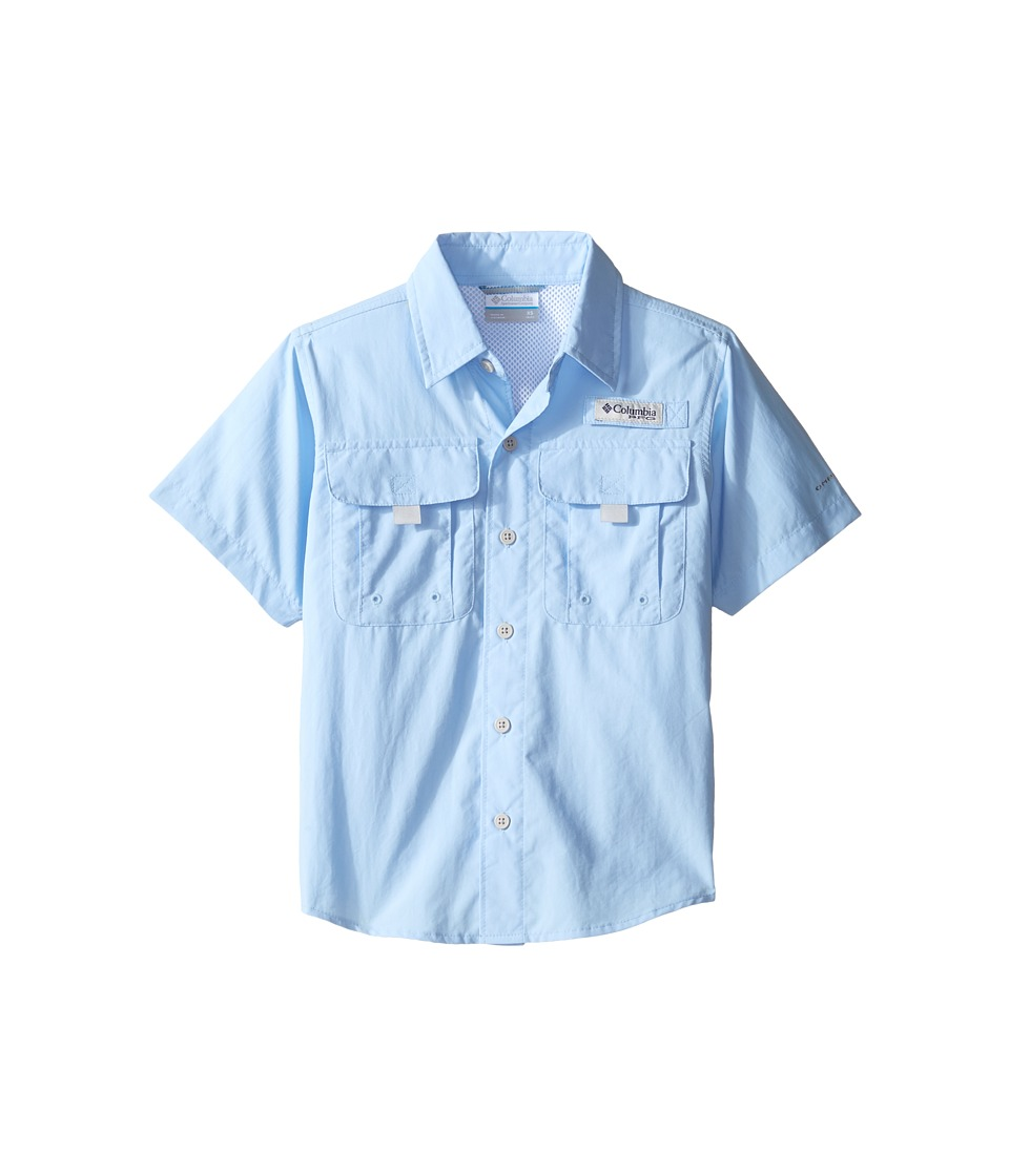 Columbia Kids - Bahama Short Sleeve Shirt (Sail) Boy's Short Sleeve Button Up