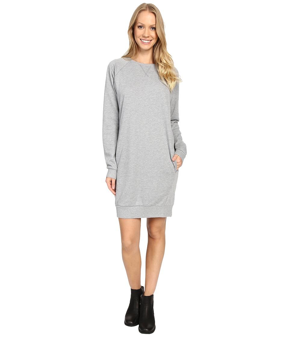 United By Blue - Walsh Raglan Fleece Dress (Grey) Women's Dress