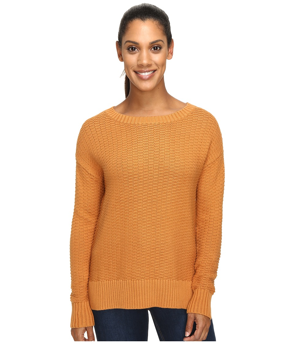 United By Blue - Himley Waffle Sweater (Nutmeg) Women's Sweater
