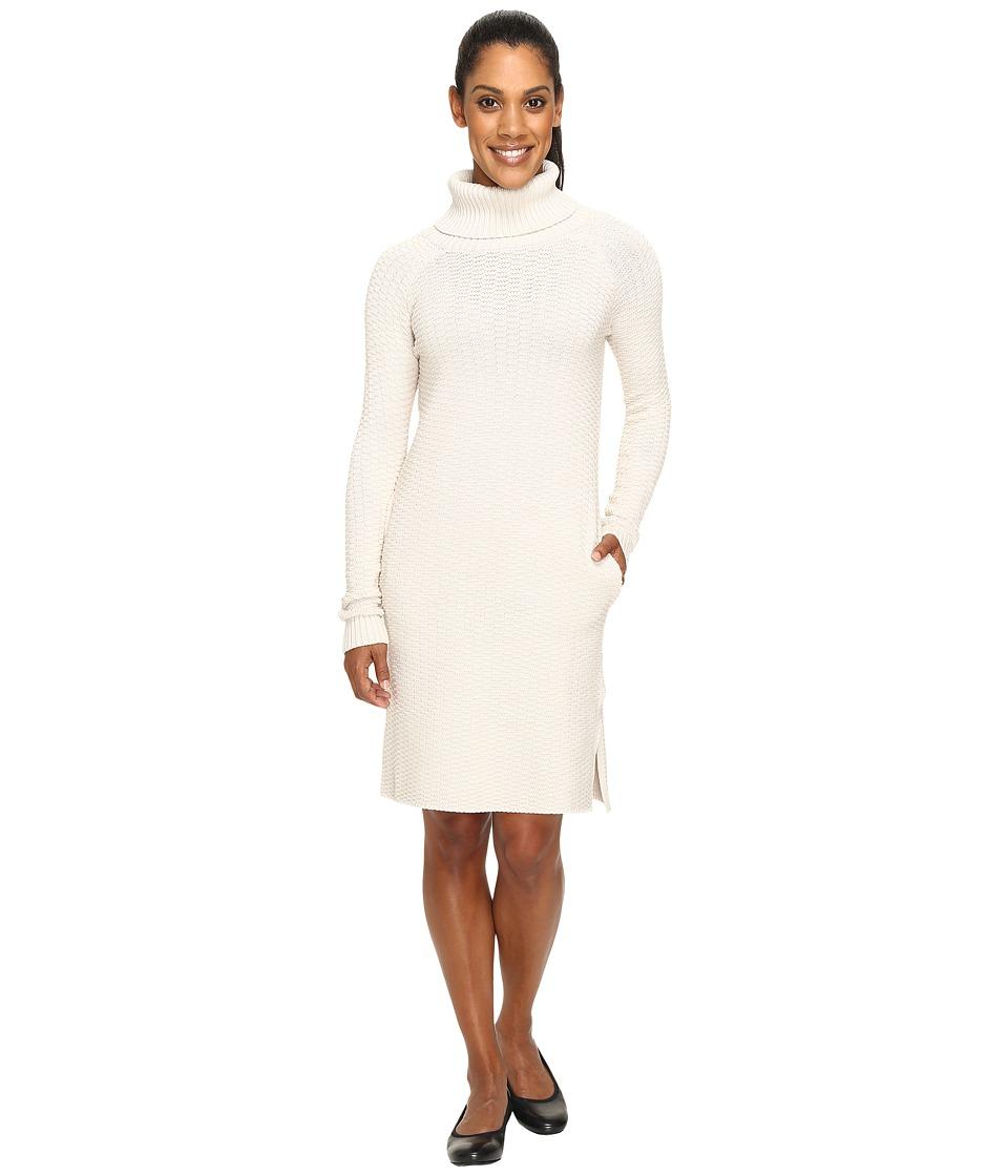 United By Blue - Luna Waffle Sweater Dress (Moonbeam) Women's Dress