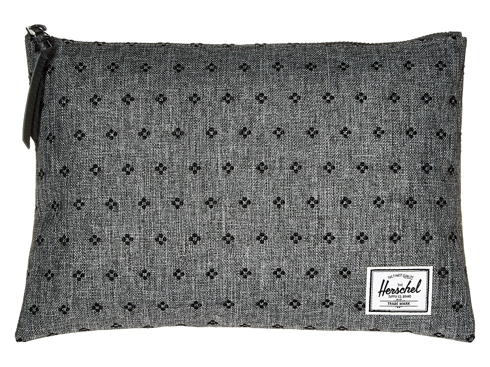 Herschel Supply Co. - Network Large (Raven Crosshatch/Black Dots) Wallet