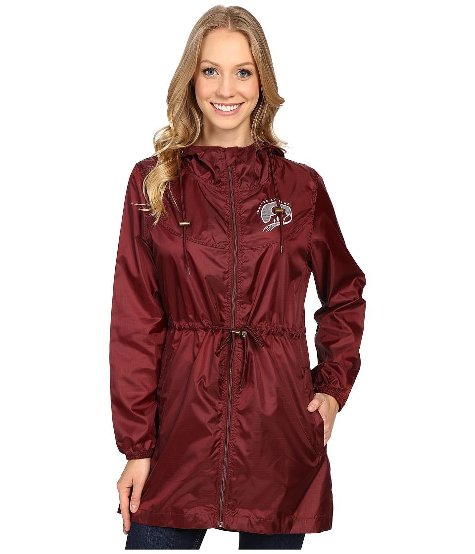 United By Blue - Singley Packable Parka (Oxblood) Women's Coat