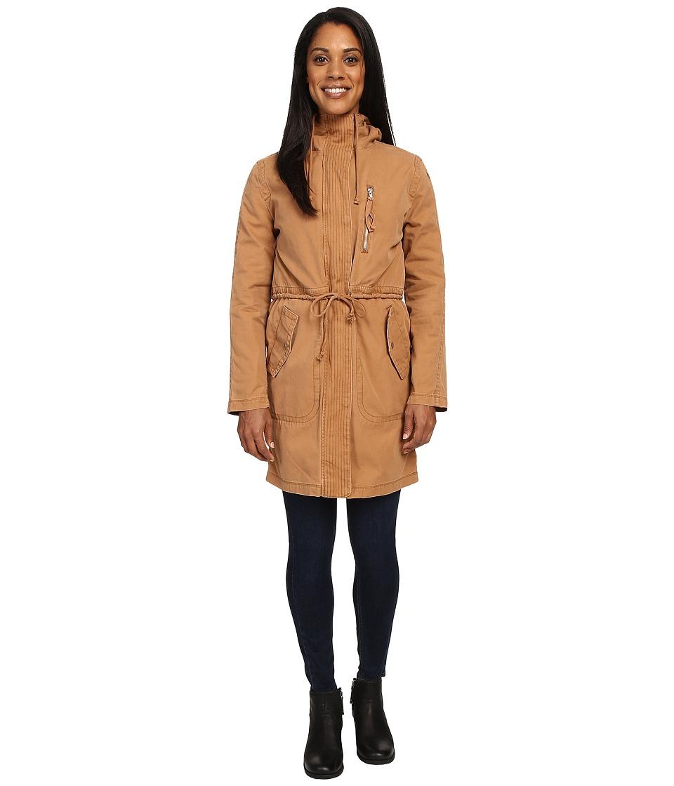 United By Blue - Ash Double Layer Coat (Nutmeg) Women's Coat