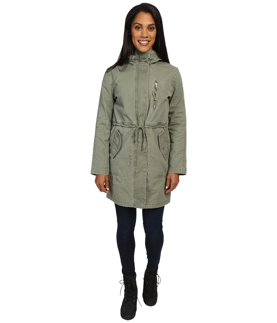 United By Blue - Ash Double Layer Coat (Olive) Women's Coat