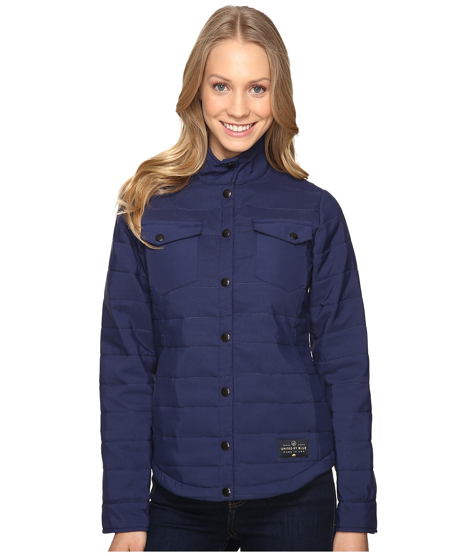 United By Blue - Bison Snap Jacket (Navy) Women's Coat