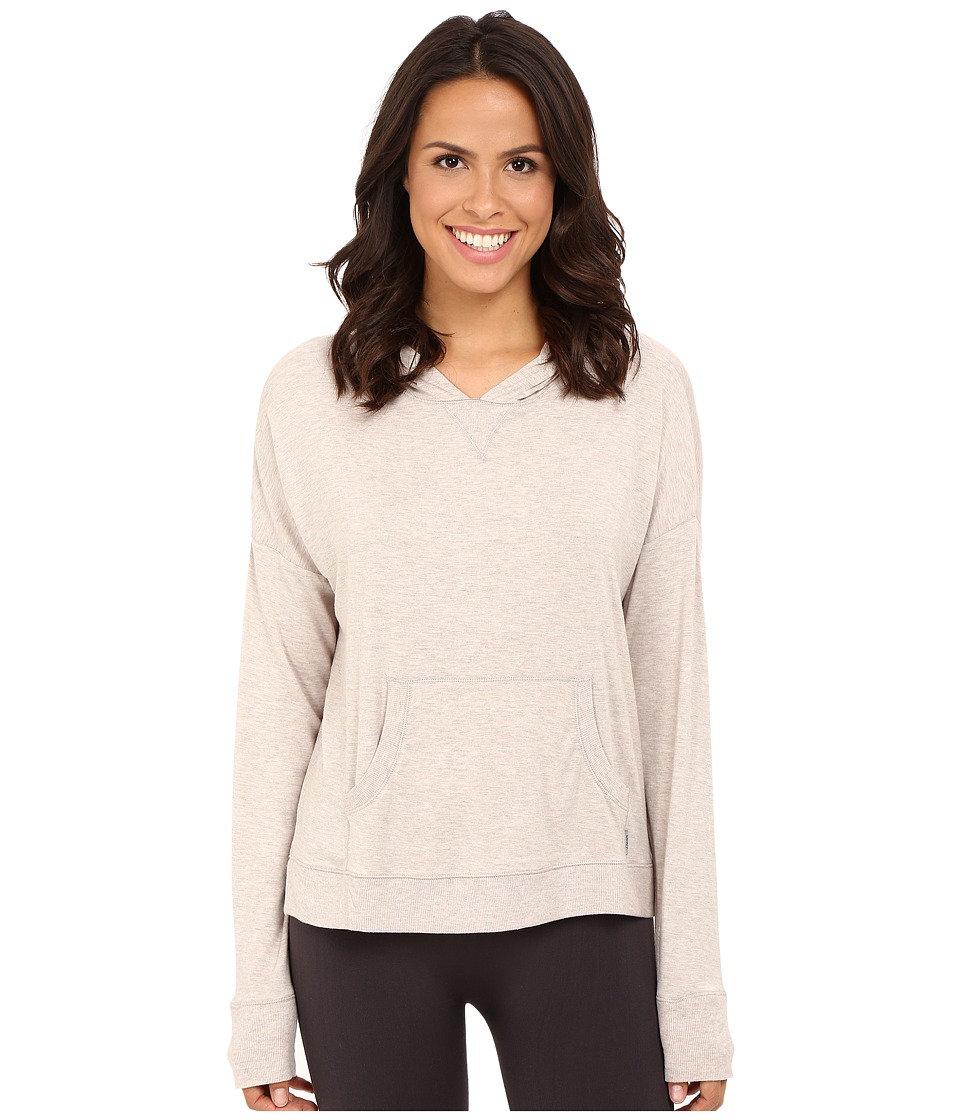 DKNY - Top - Long Sleeve (Oat Heather) Women's Pajama