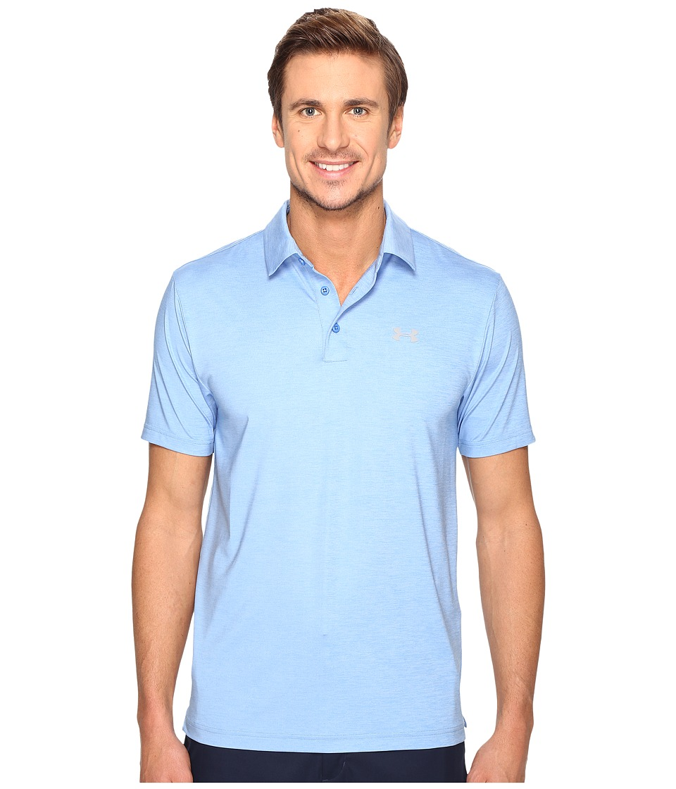 Under Armour Golf UA Playoff Polo (Water/Water/Steel) Men