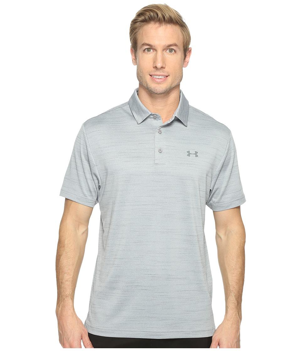 Under Armour Golf UA Playoff Polo (Steel/White/Graphite) Men