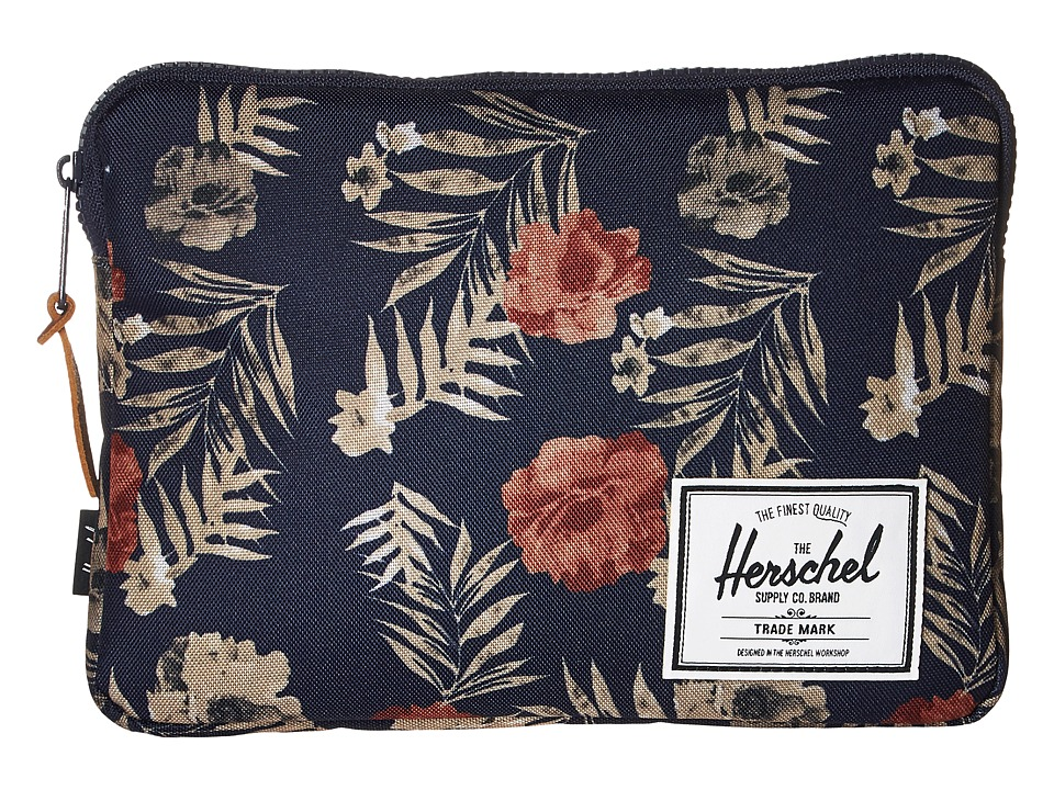 Herschel Supply Co. - Anchor Sleeve for iPad Air (Peacoat Floria) Computer Bags