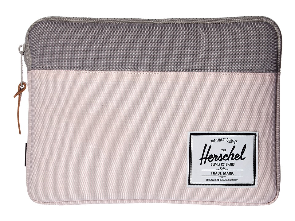 Herschel Supply Co. - Anchor Sleeve for iPad Air (Cloud Pink/Ash) Computer Bags