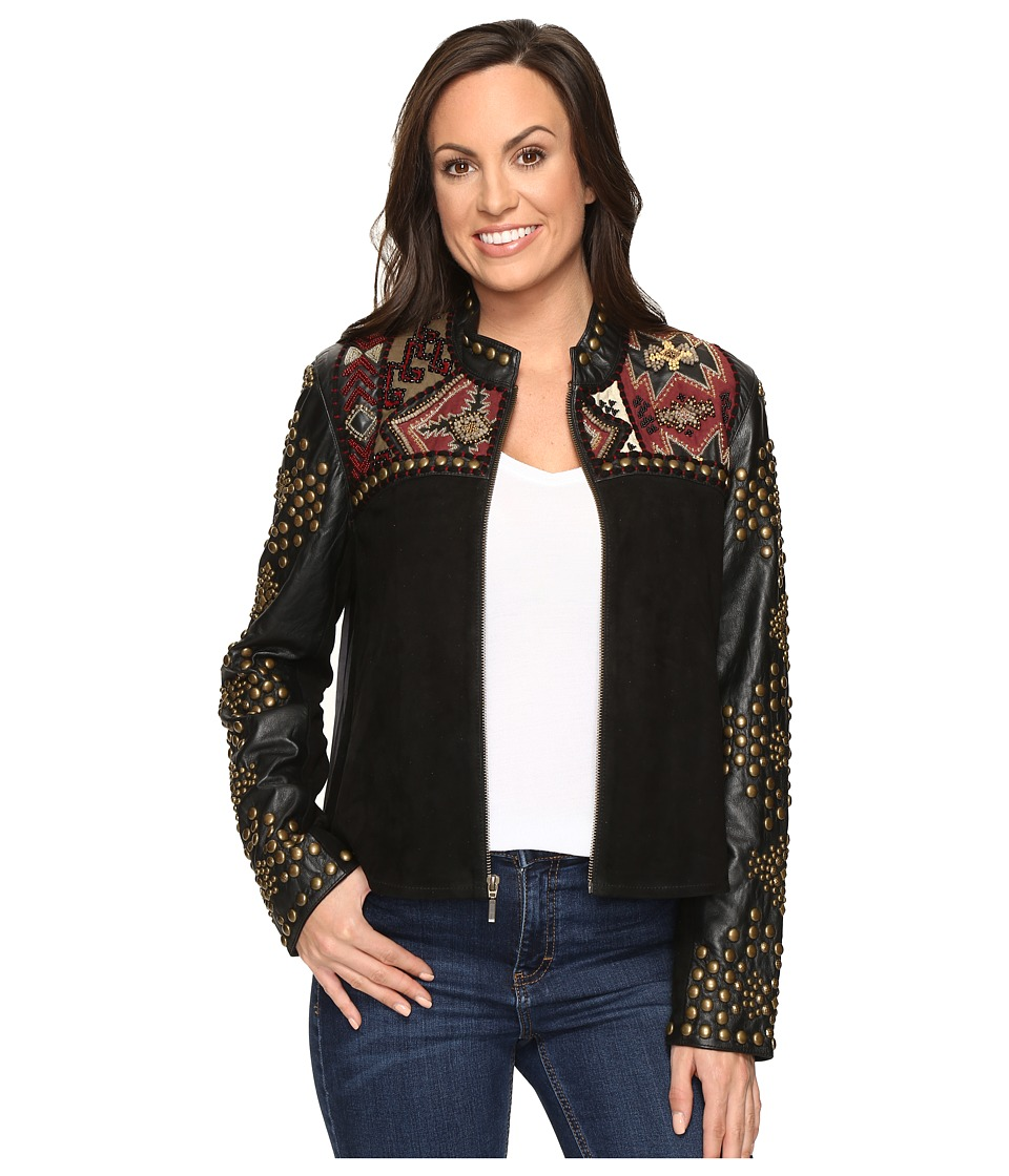 Double D Ranchwear - San Pedro Jacket (Black) Women's Coat