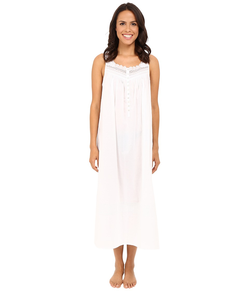 Eileen West - Ballet Nightgown Sleeveless (White) Women's Pajama