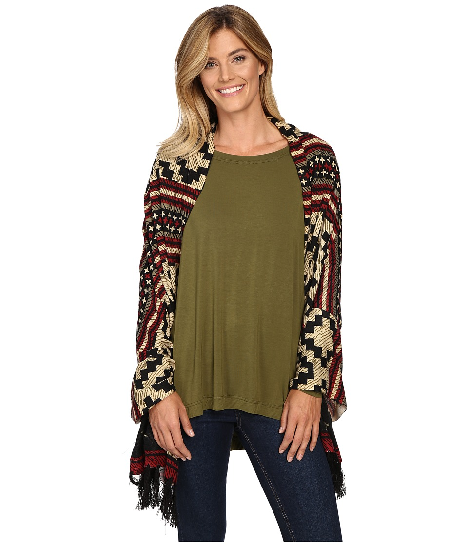 Double D Ranchwear - Pampas Plains Wrap/Shawl (Multi) Women's Clothing