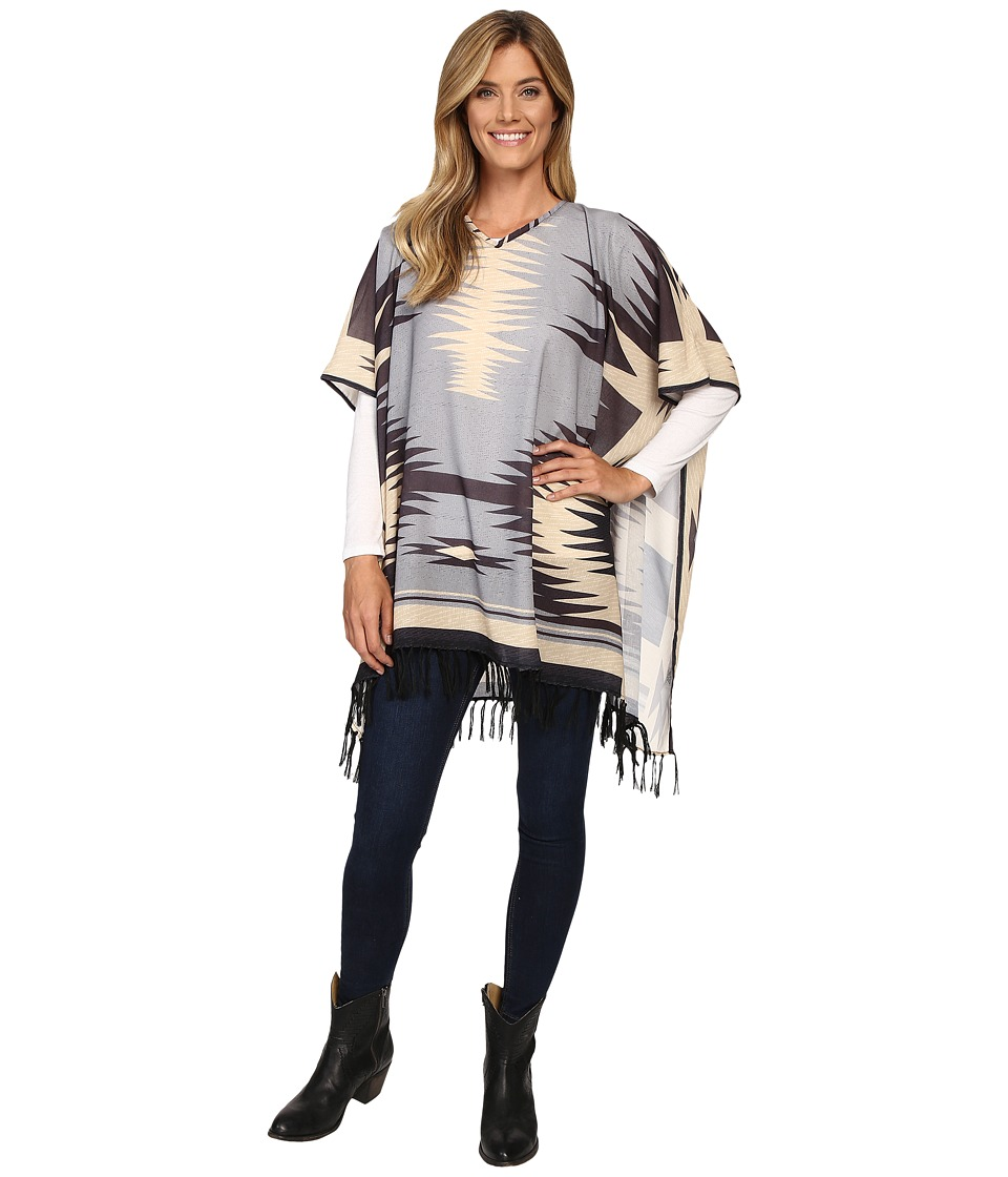 Double D Ranchwear - Gauchos Blanket Poncho (Multi) Women's Clothing