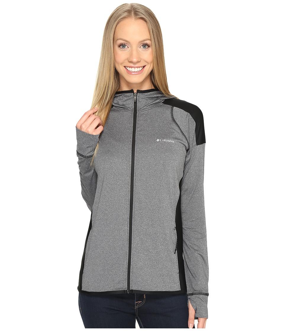 Columbia - Saturday Trail Hoodie (Black Heather) Women's Sweatshirt