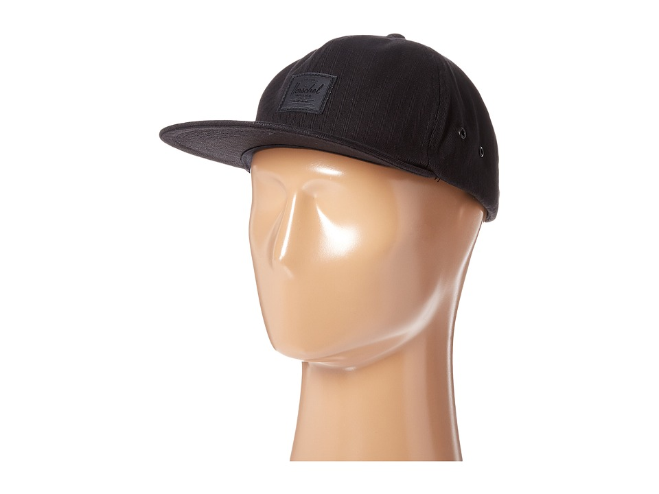 Herschel Supply Co. - Albert (Black Surplus) Caps