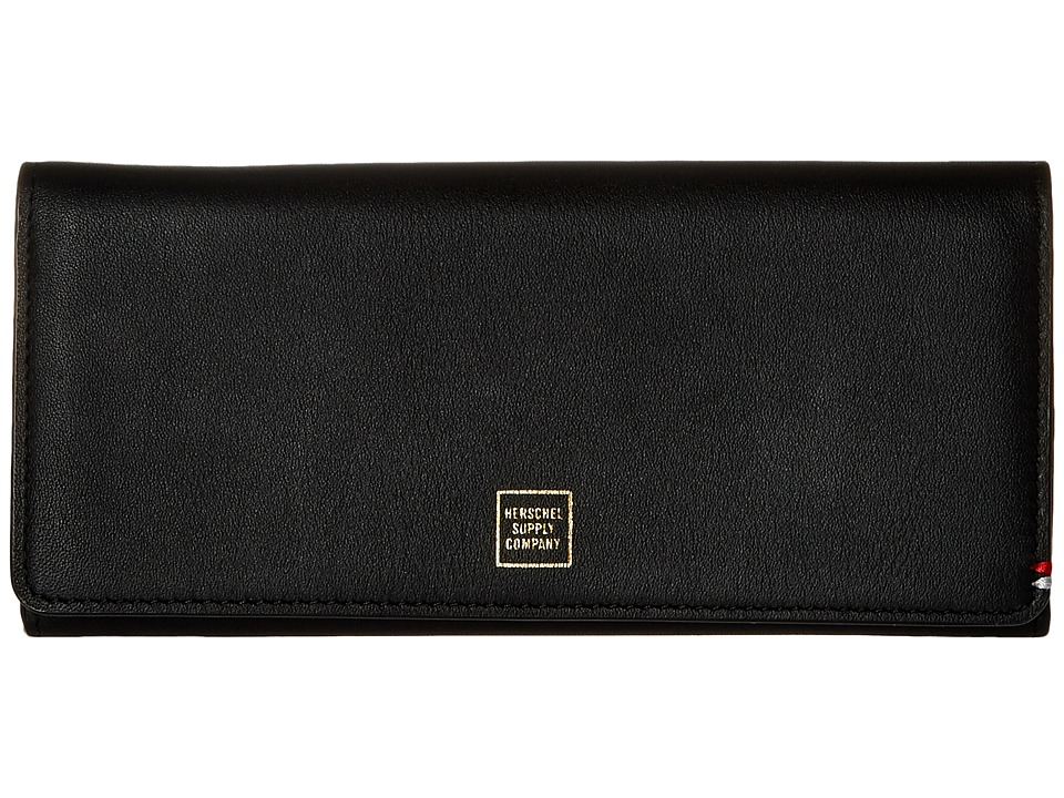 Herschel Supply Co. - Olympic Napa (Black/Gold Foil) Wallet Handbags