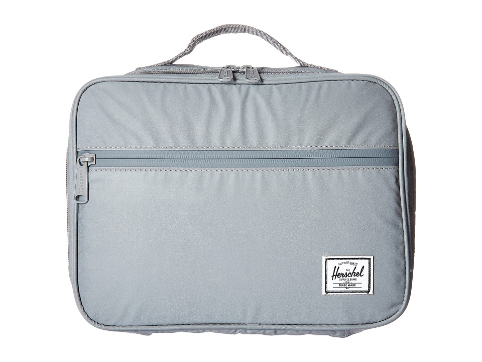 Herschel Supply Co. - Pop Quiz Lunchbox (Silver Reflective Rubber) Bags