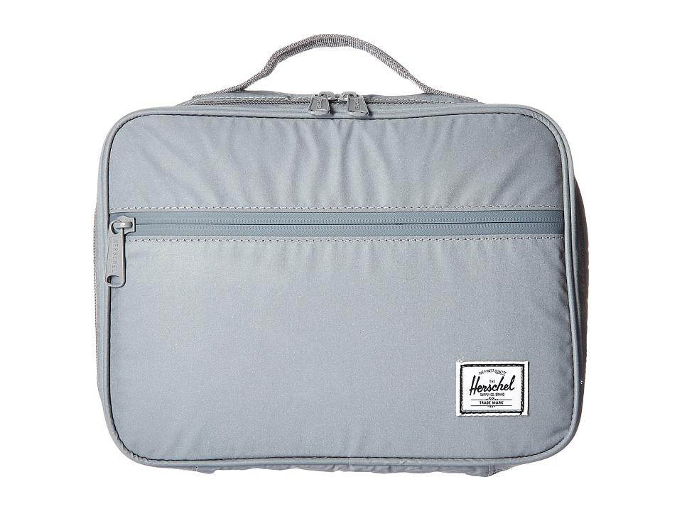 Herschel Supply Co. - Pop Quiz Lunchbox (Silver Reflective Rubber) Bags