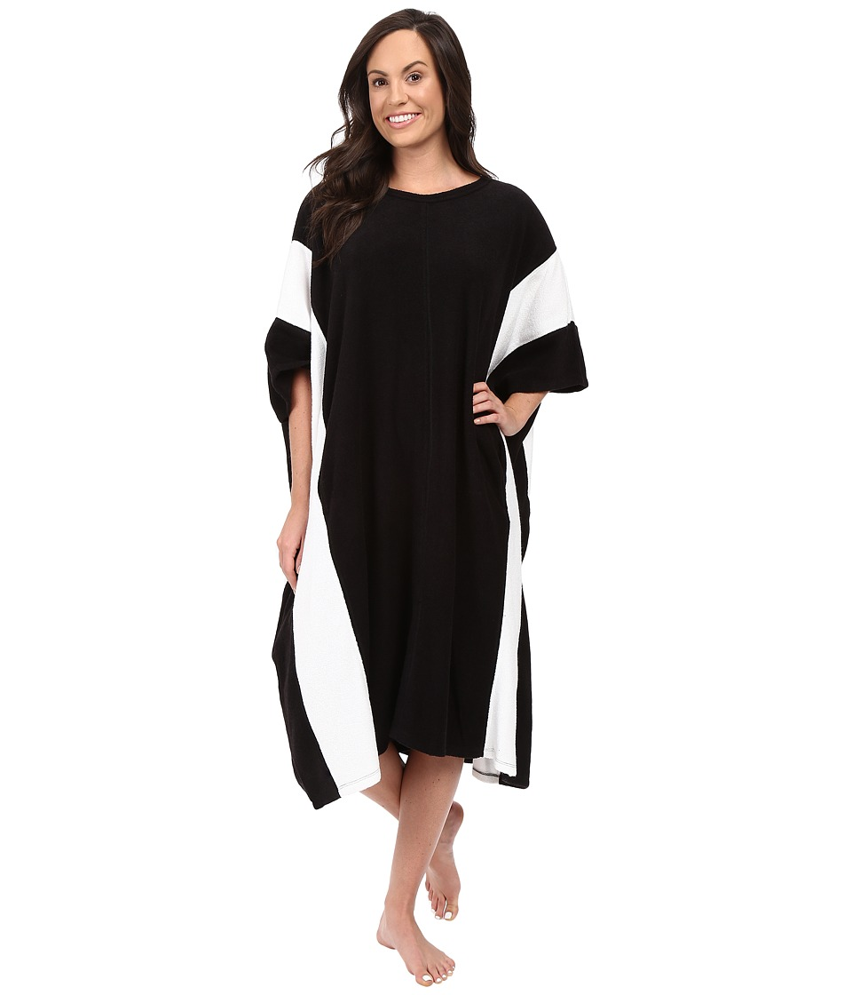 DKNY - 42 Sleep Caftan (Black) Women's Pajama