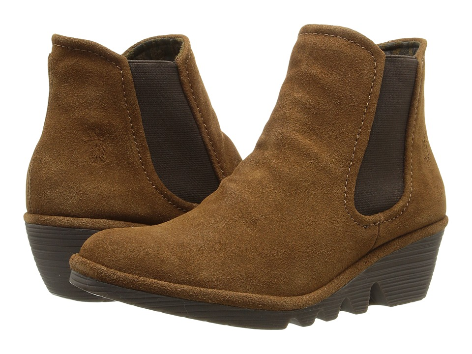 FLY LONDON - Phil (Camel Oil Suede) Women's Shoes