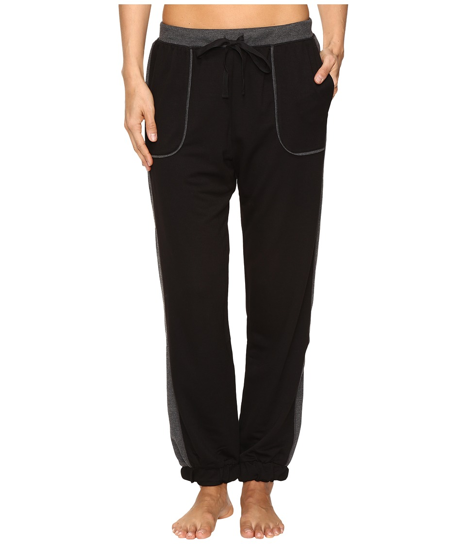 DKNY - Cropped Jogger (Black) Women's Pajama