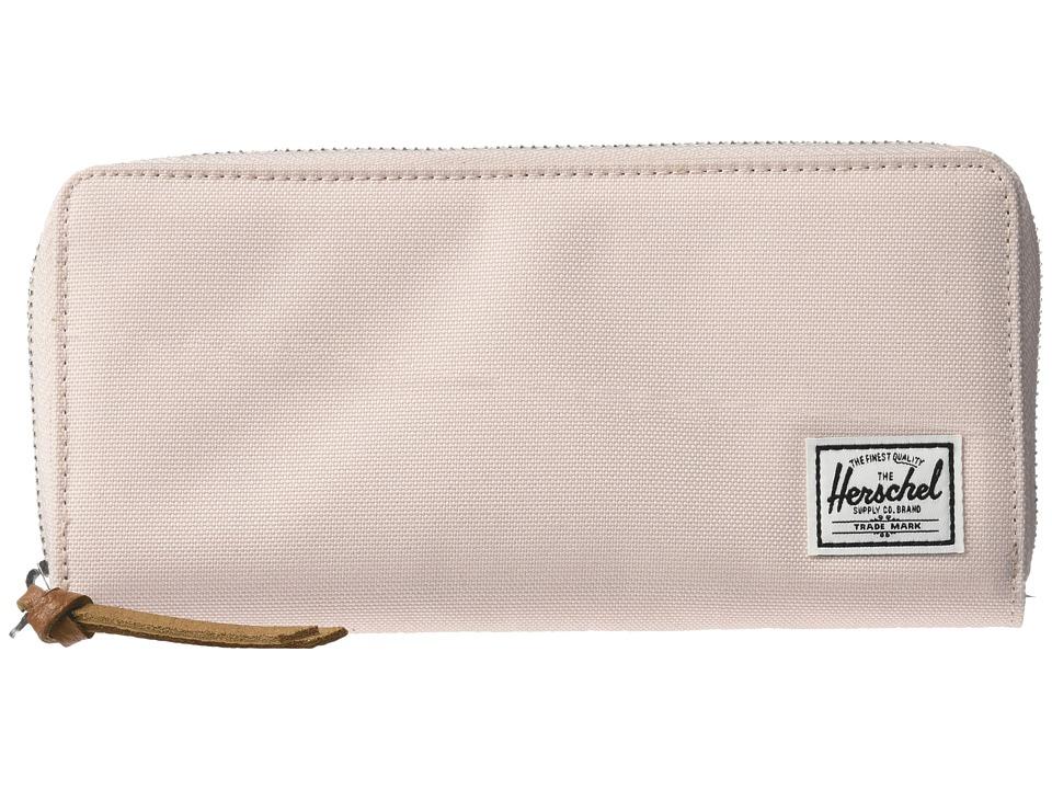 Herschel Supply Co. - Avenue with Zipper (Cloud Pink/Ash) Wallet Handbags