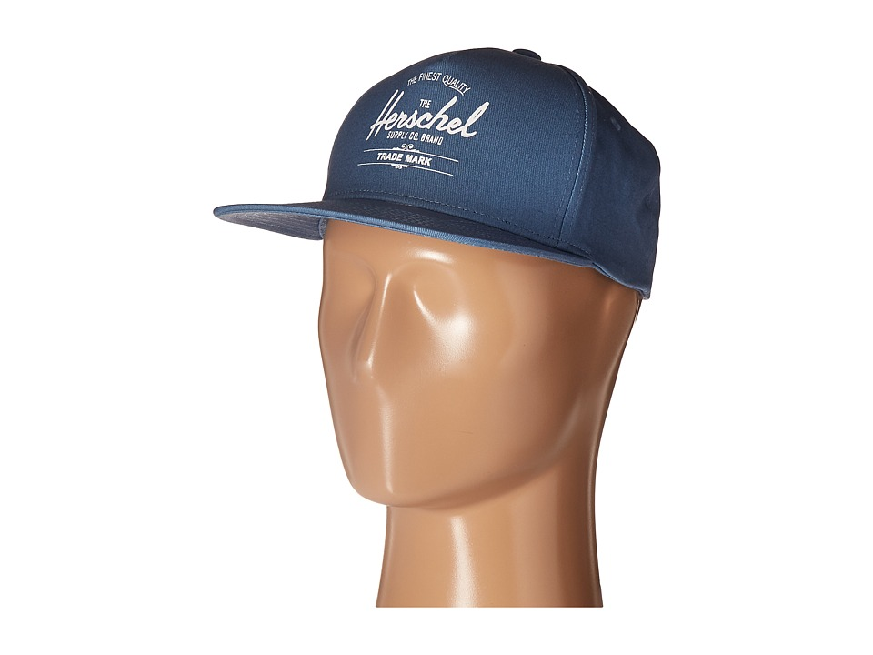 Herschel Supply Co. - Whaler (Washed Pale Indigo) Caps