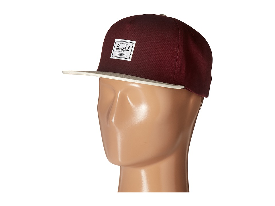 Herschel Supply Co. - Dean (Natural/Windsor Wine) Caps