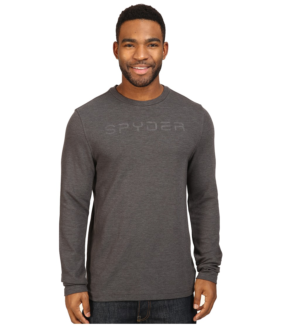 Spyder - Pump Therma Stretch T-Neck Top (Polar 1) Men's Long Sleeve Pullover