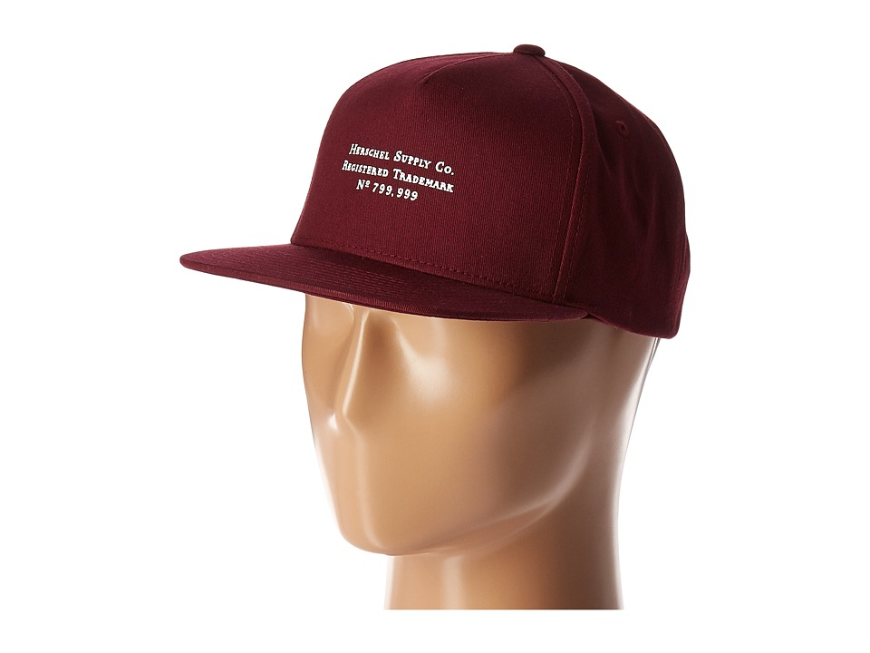 Herschel Supply Co. - Trademark (Windsor Wine) Caps
