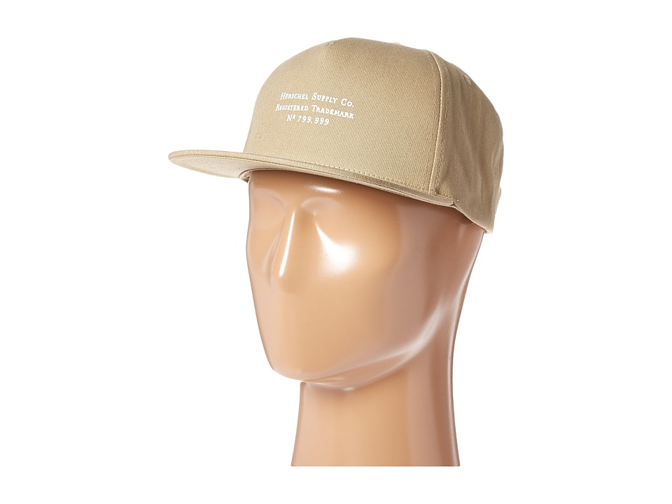 Herschel Supply Co. - Trademark (Khaki) Caps