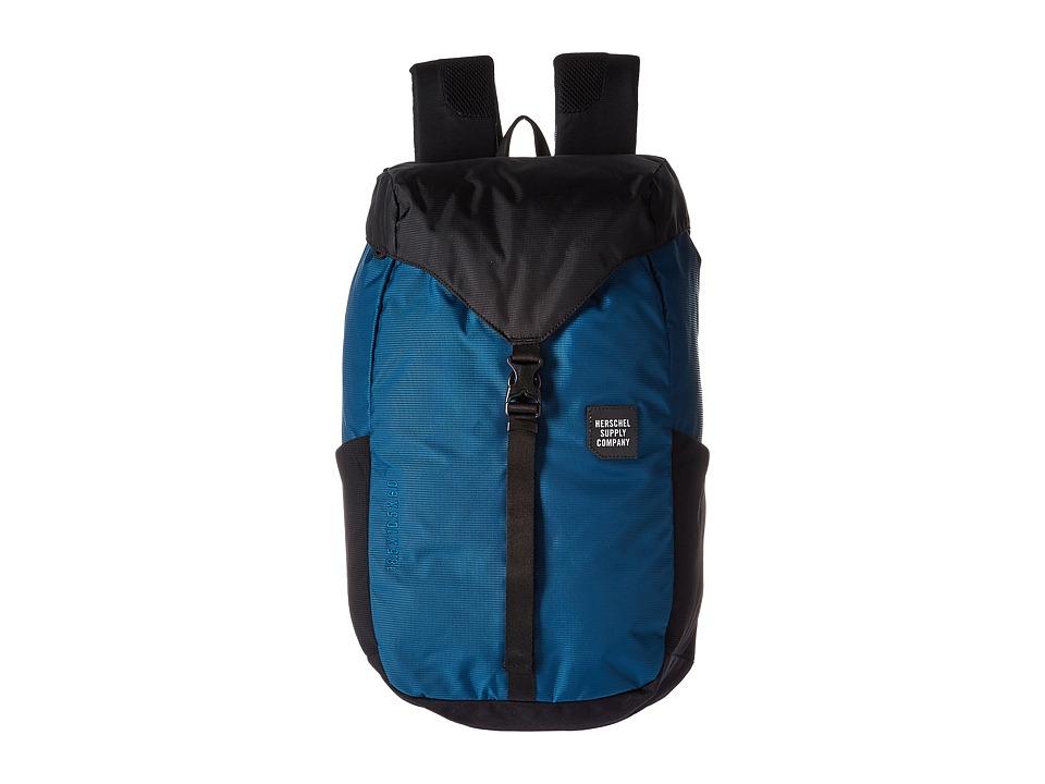 Herschel Supply Co. Barlow Medium (Legion Blue/Black) Backpack Bags