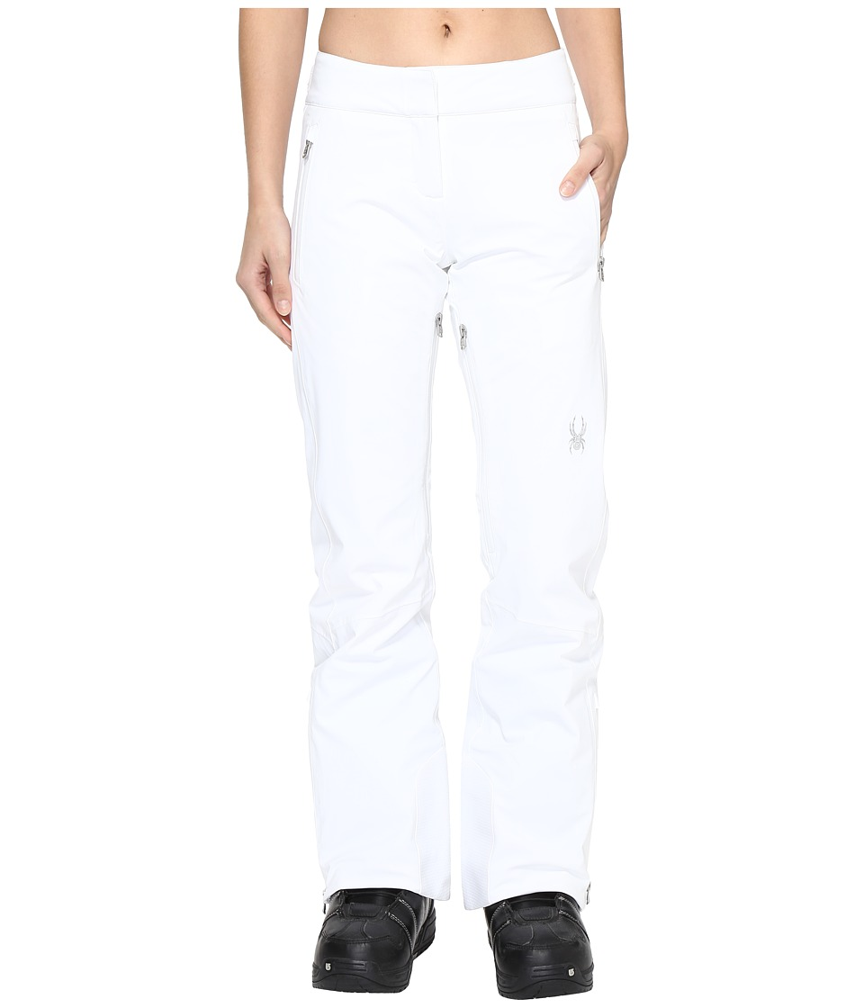 Spyder - The Traveler Tailored Fit Pant (White 1) Women's Casual Pants