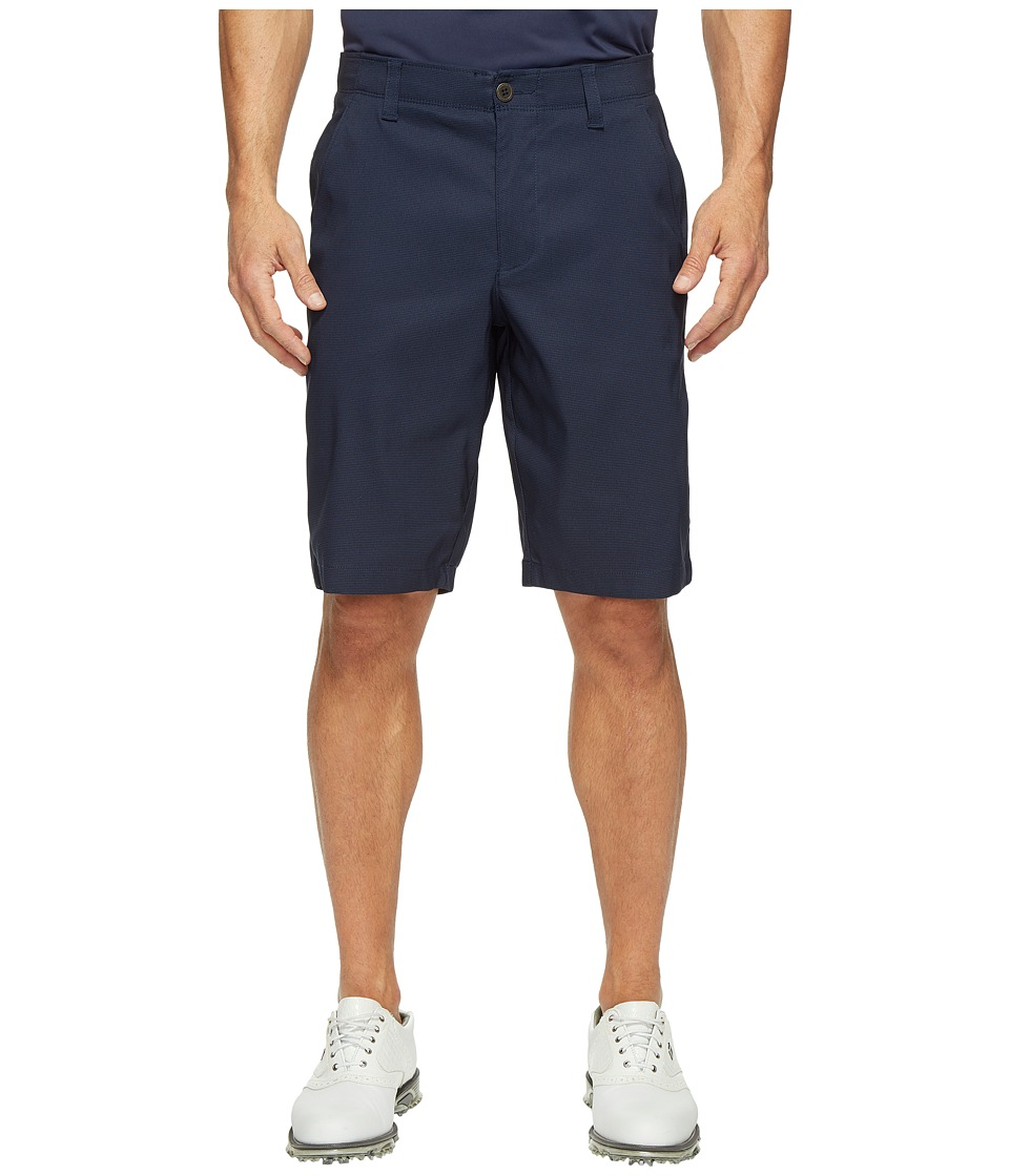 Under Armour Golf - Match Play Patterned Shorts (Academy/Academy/Steel) Men's Shorts