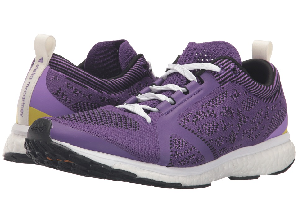 adidas by Stella McCartney - Adizero Adios (Power Purple S12/Deep Lilac/SMC/Flash F04) Women's Running Shoes