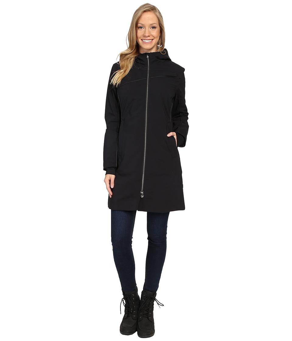 Spyder - Central Parka (Black) Women's Clothing