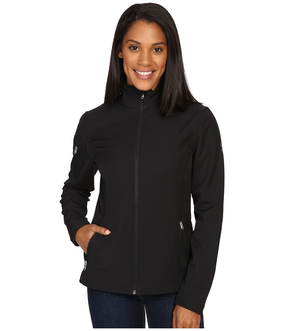 Spyder - Fresh Air Softshell Jacket (Black) Women's Coat