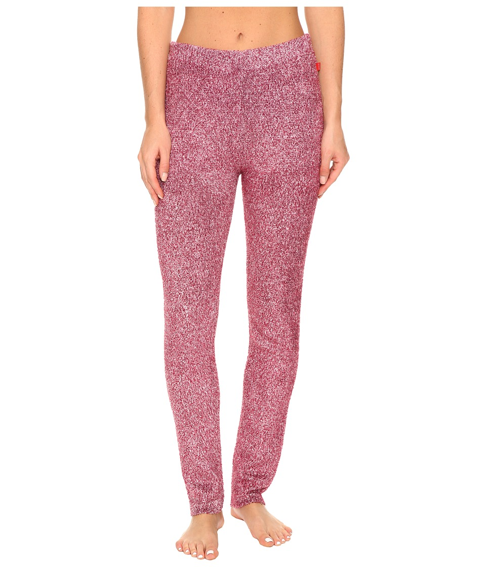 Josie - Sweater Weather Leggings (Heather Dark Red) Women's Pajama