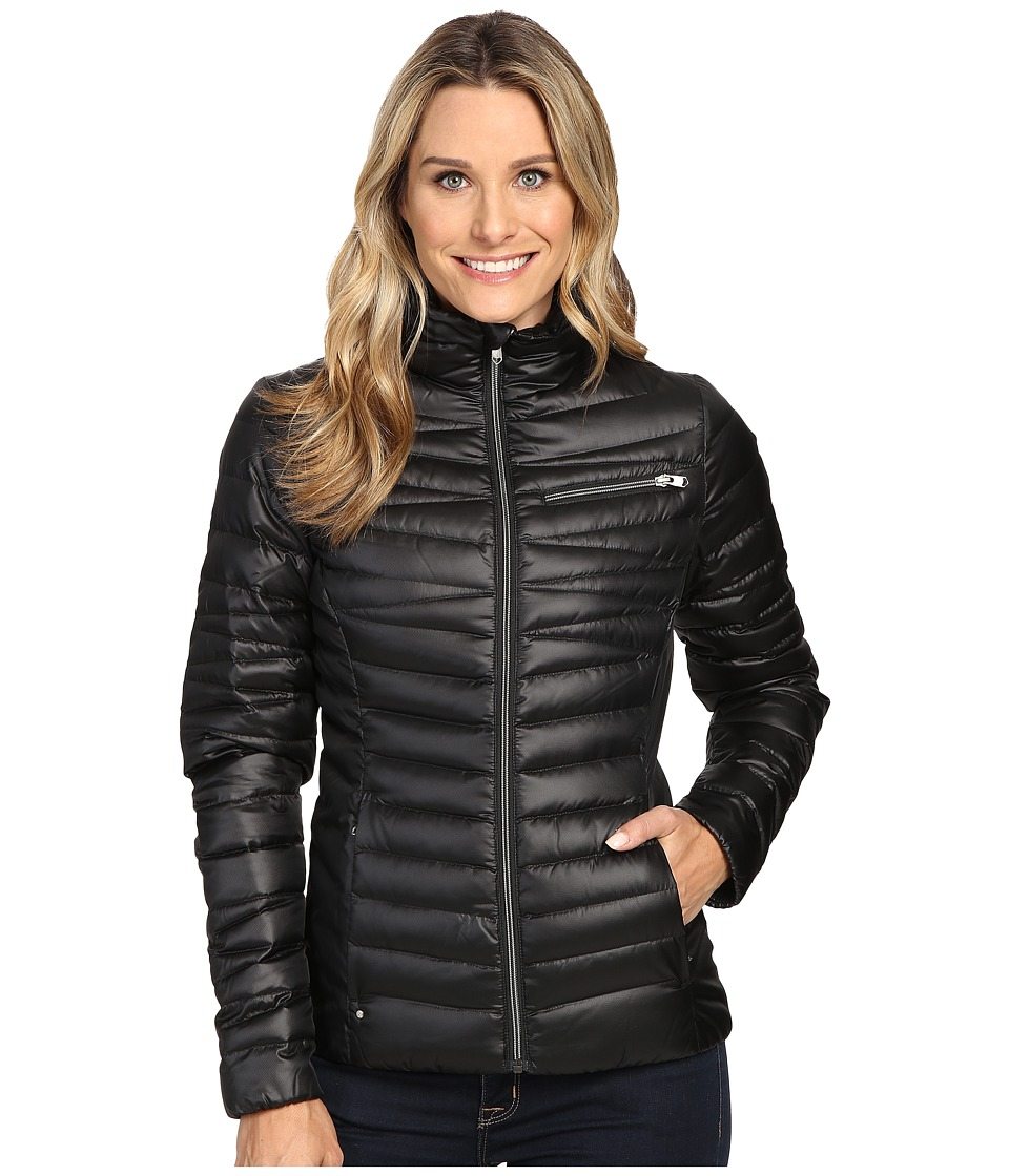 Spyder - Timeless Down Jacket (Black/Sliver 2) Women's Coat