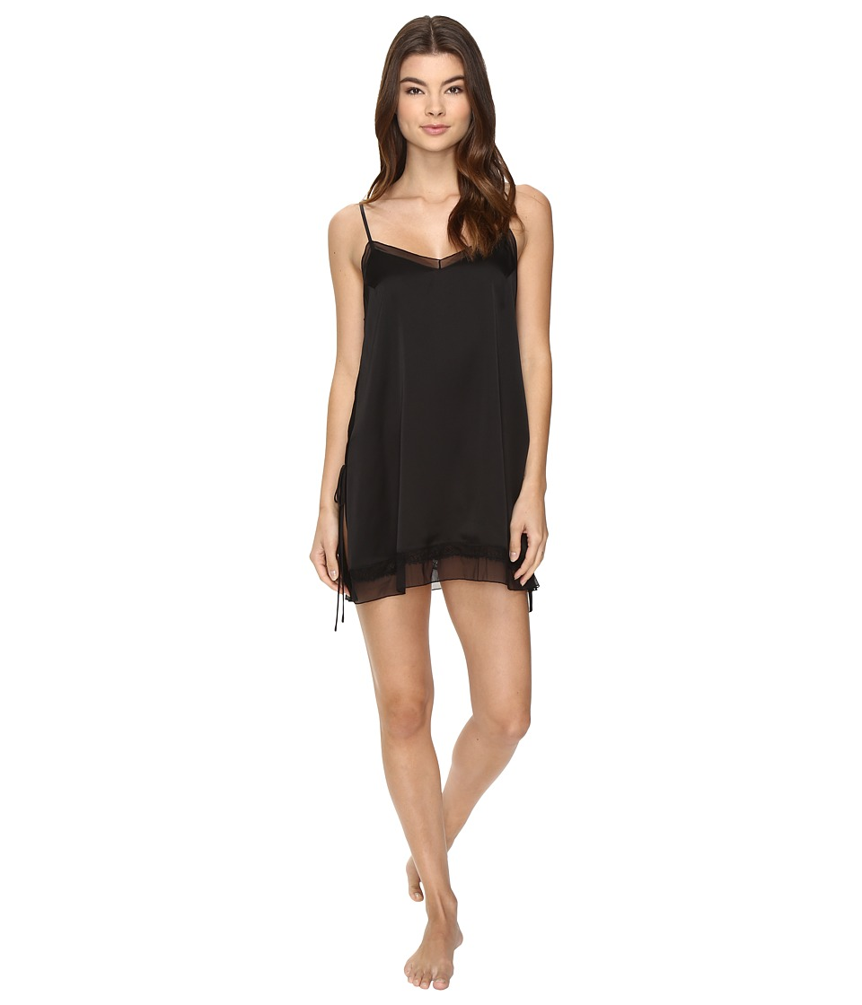 Josie - Starry Night Escape Chemise (Black) Women's Pajama